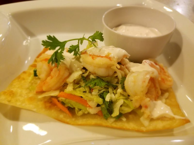 Asian Shrimp Tostadas