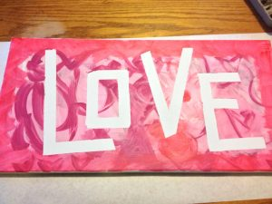 Valentine's Day, Wedding, Anniversary or Engagement Craft